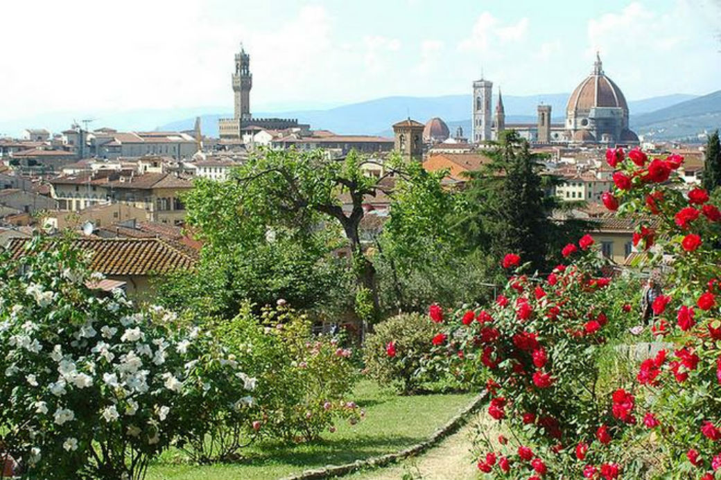 Spring in Florence: The Rose Garden