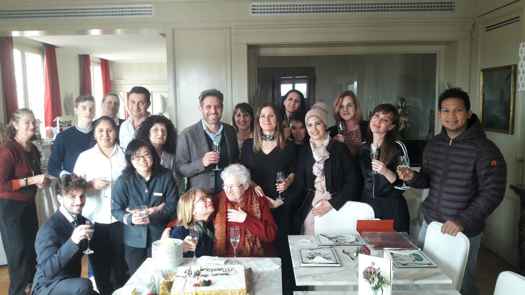 The Antica Torre Tornabuoni family celebrates the 90th birthday of a very special daughter