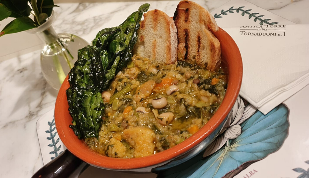 Typical Tuscan recipe: La Ribollita