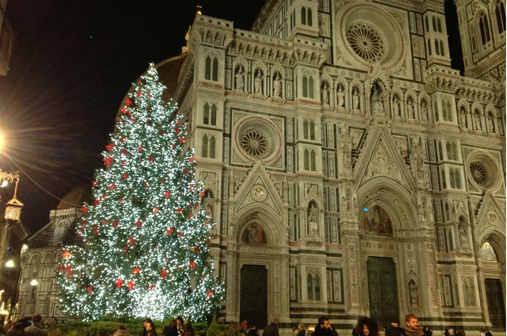Tour degli alberi di Natale a Firenze