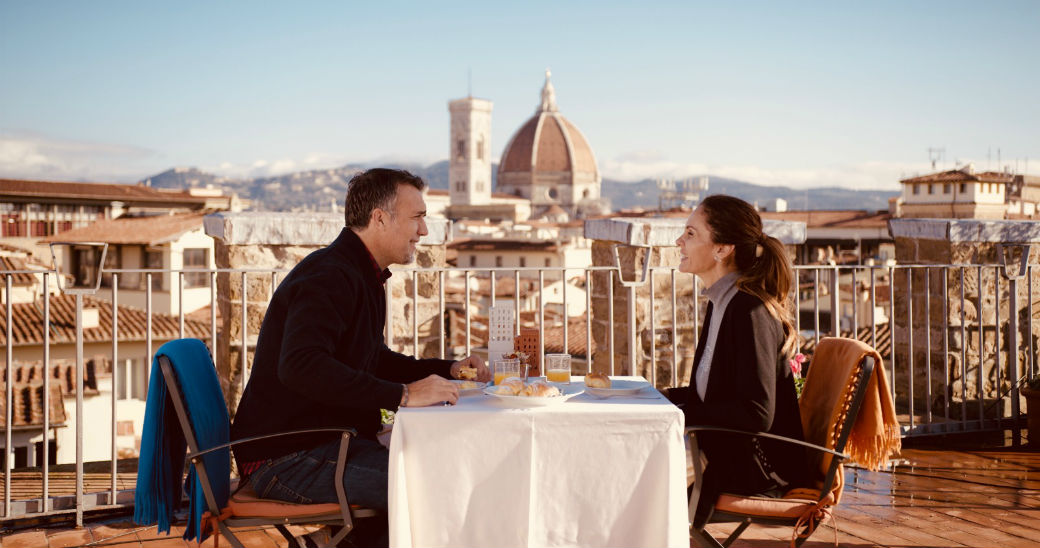 Batistuta and Florence: a love story whispered at the Antica Torre Tornabuoni