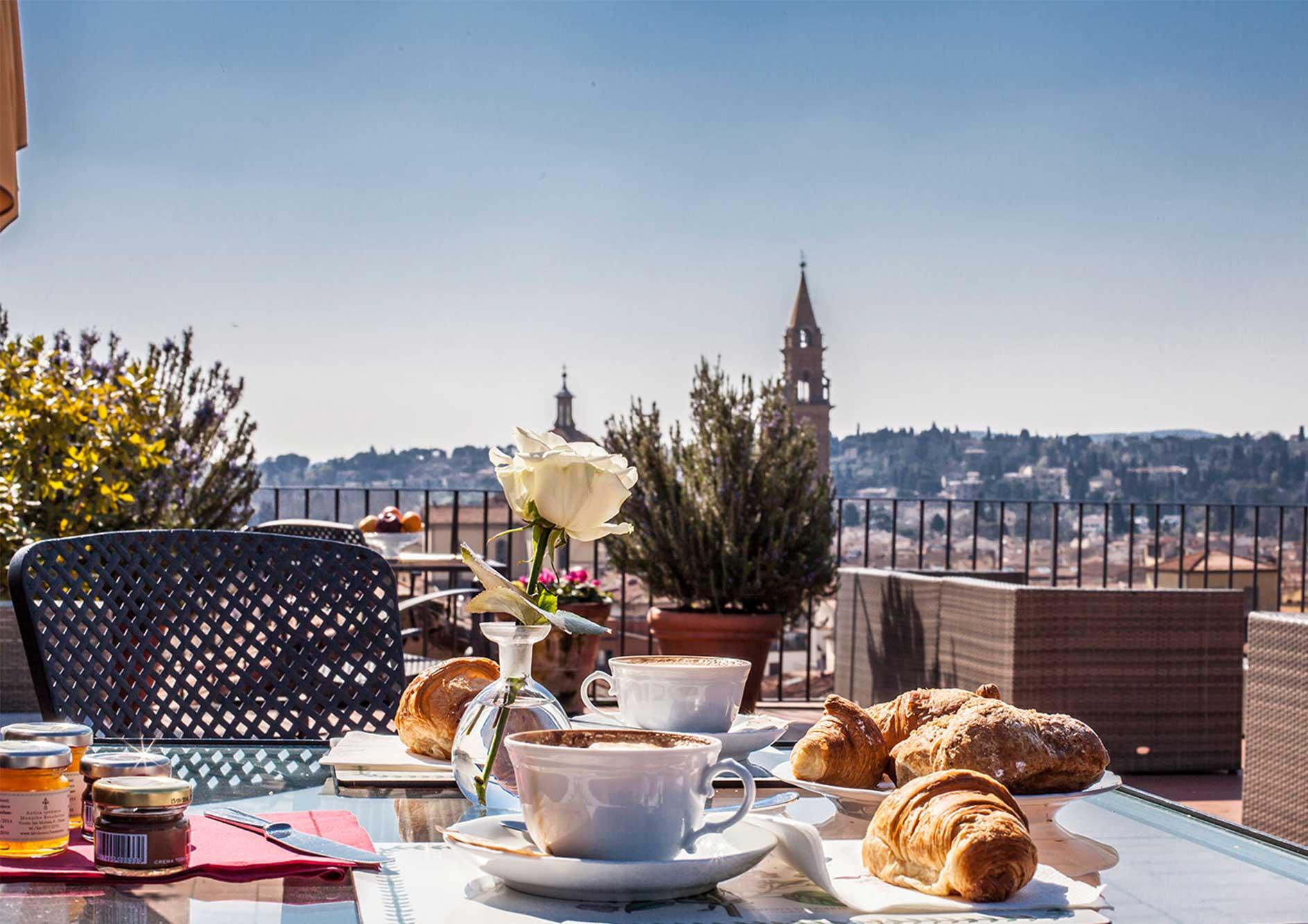 luxury hotel florence terraces