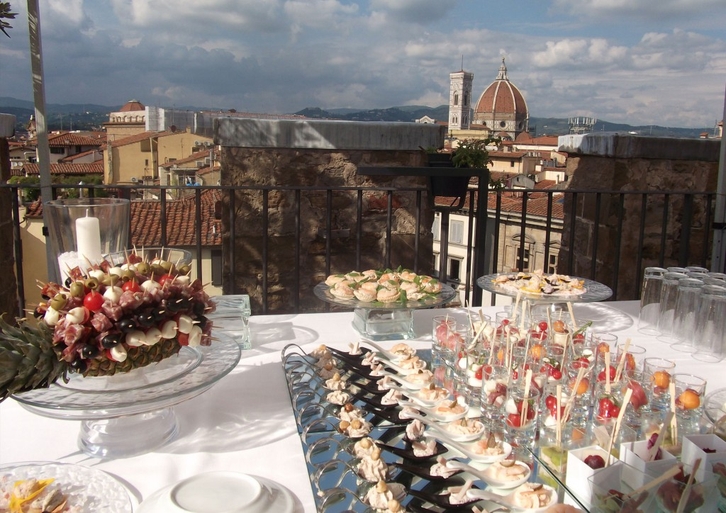 Wedding in Florence - banquet