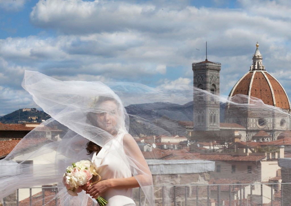 rooftop Florence wedding