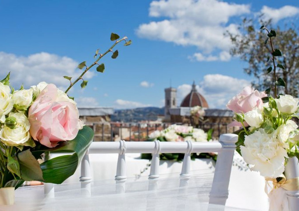 Wedding in Florence - in our terraces