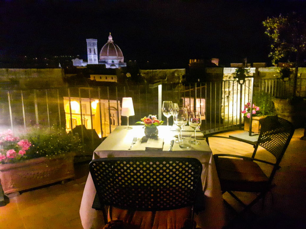 dinner under the stars cena sotto le stelle